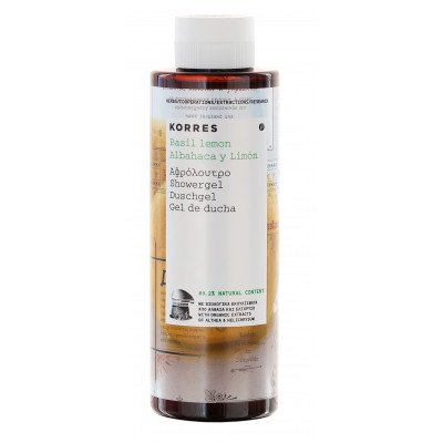 Korres Basil Lemon showergel_250ml