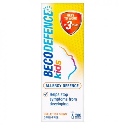 BECODEFENCE allergy nasal spray kids 20ml
