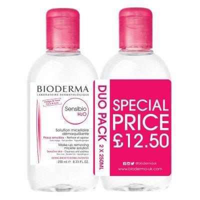 Bioderma Sensibio H2O Duo Pack 250ml