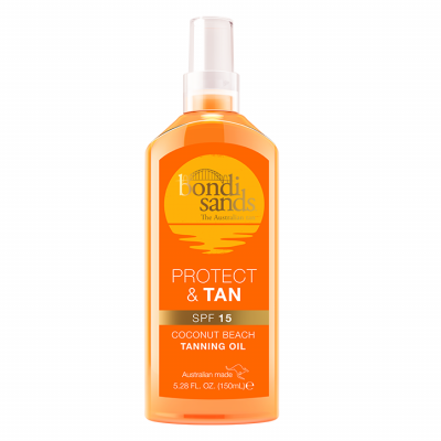 Bondi Sands Protect & Tan SPF 15 Tanning Oil 150ml