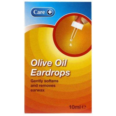 Care Olive oil eardrops 10ml