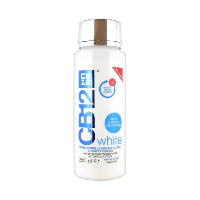 Cb 12 oral rinse white 250ml