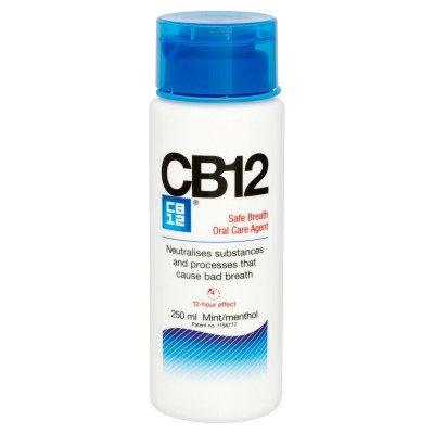 Cb 12 oral rinse mint/menthol 250ml