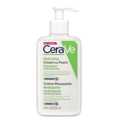 CeraVe Hydrating Cream to Foam Cleanser 236ml