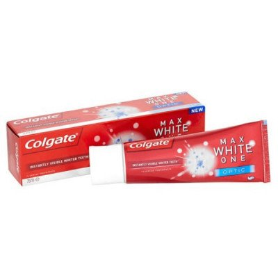 Colgate toothpaste max white optic 25ml
