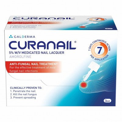 Curanail  Medicated Nail Lacquer 5% w/v 3ml