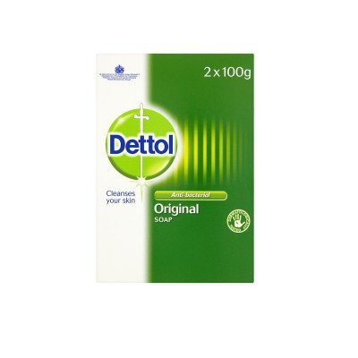 Dettol antibacterial soap 100g 2 pack