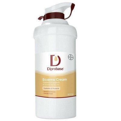 Diprobase Emollient Eczema Dry Skin Cream 500g