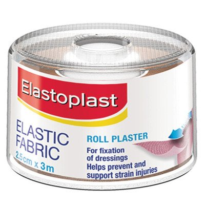 Elastoplast Fabric strapping Plaster - 2. 5cm x 3m
