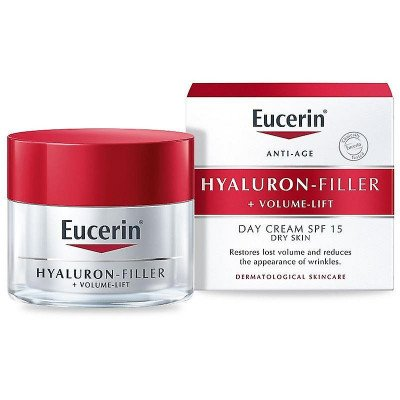 Eucerin Hyaluron-Filler + Volume Lift Day SPF 15 for dry skin 50ml