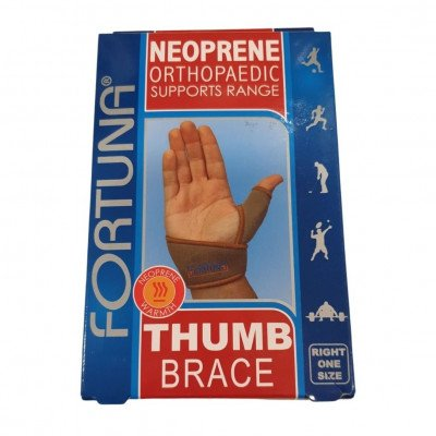 Fortuna Disabled Aids supports neoprene supports thumb brace right
