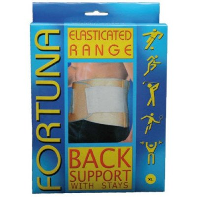 Fortuna Elasticated supports back with stays x-large
