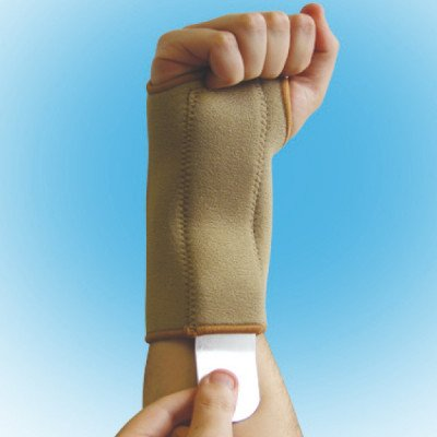 Fortuna Disabled Aids supports neoprene supports wrist splint left small