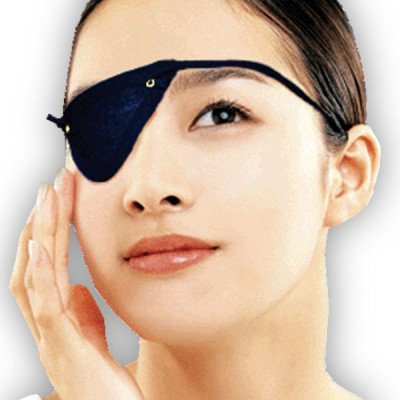 Fortuna Accessories eye patch green medium-large