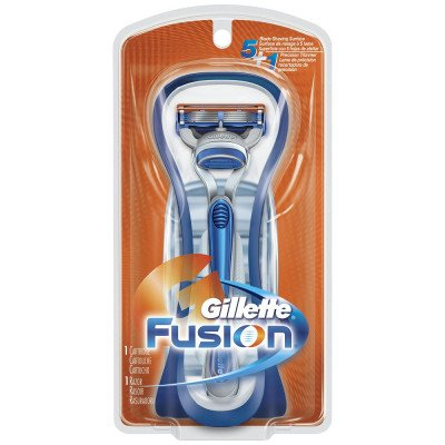 Gillette razors Fusion manual TMR