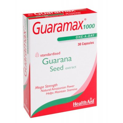 Healthaid lifestyle range Guaramax capsules 1000mg 30 pack