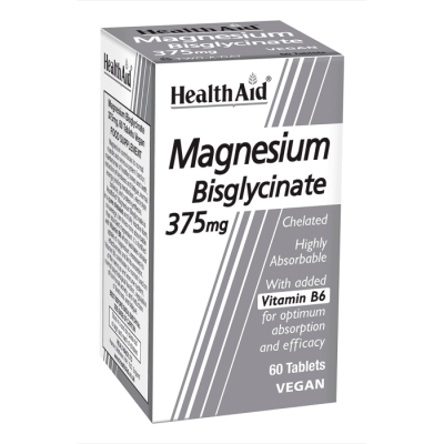 HEALTHAID multivitamin & mineral supplements tablets magnesium bisglycinate 375mg  60
