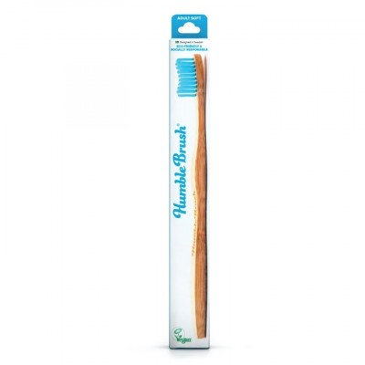 Humble Brush Adult - Blue, soft bristles