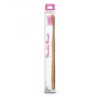 Humble Brush Adult - purple, soft bristles