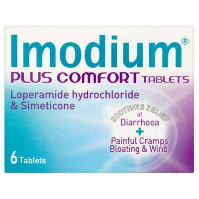 Imodium plus comfort tablets 6 pack