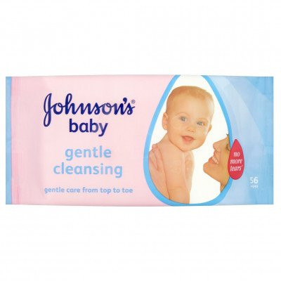 JOHNSON'S® Gentle All Over Baby Wipes - 56 pack