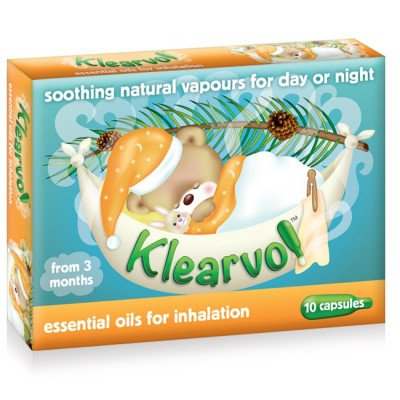 Klearvol essential oil capsules 10 pack