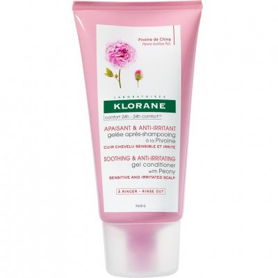KLORANE Soothing and anti-irritating gel conditioner with peony