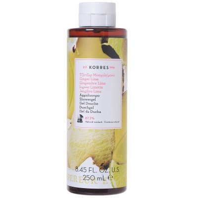 Korres Gel Douch Ginger Lime (250ml)