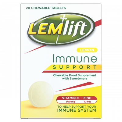 LEMLIFT chewable tablets lemon  20