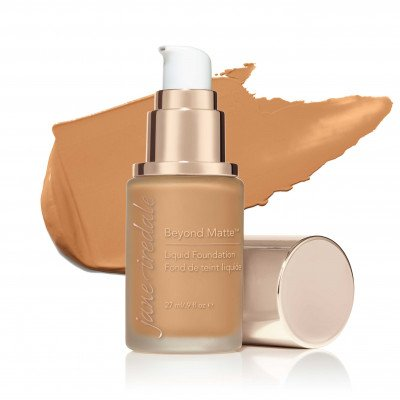 Jane Iredale Beyond Matte™ Liquid Foundation - M10 - medium to dark with gold/peach/brown undertones