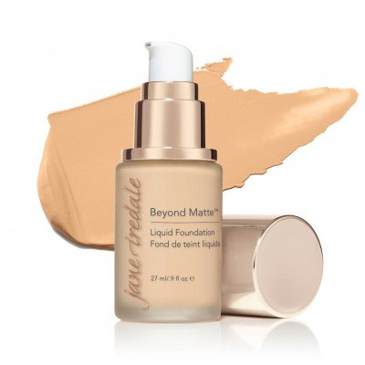 Jane Iredale Beyond Matte™ Liquid Foundation - M6 - medium with peach/gold undertones