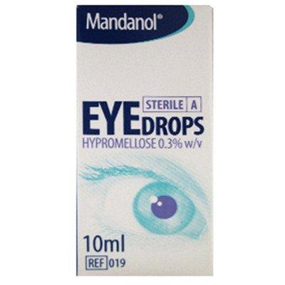 Mandanol hypromellose eye drops 10ml