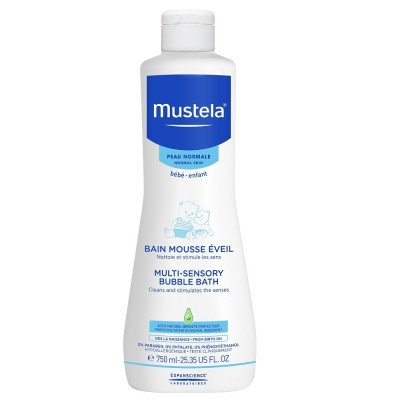 Mustela Multi Sensory Bubble Bath 750 ML