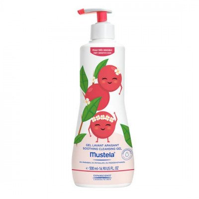Mustela Soothing Cleansing Gel 500ml