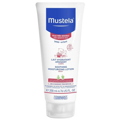Mustela Soothing moisturising Body lotion 200ml