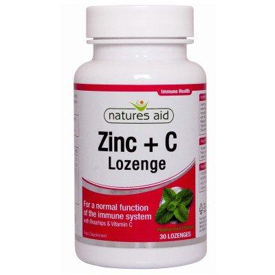 Natures aid zinc lozenges 30 pack