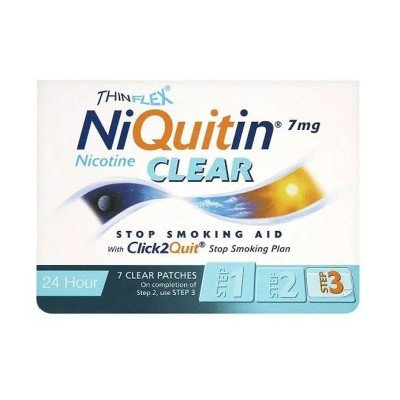 Niquitin patches clear 7mg 7 pack