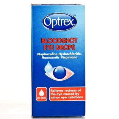 Optrex eye care eye drops bloodshot eyes 10ml