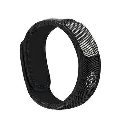 Para'Kito essential Oil Diffusion Black Wristband