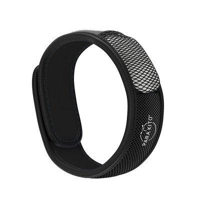 Para'Kito essential Oil Diffusion Black Wristband