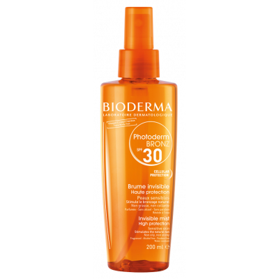 BioDerma Photoderm Bronz SPF 30 Invisible Sun Mist 200ml