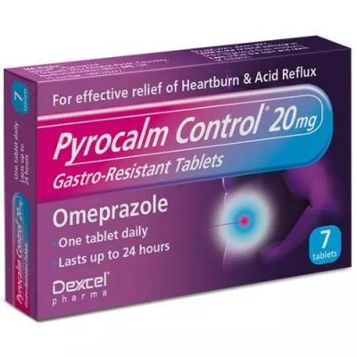Pyrocalm Control 20mg Gastro-Resistant Tablets - 7s
