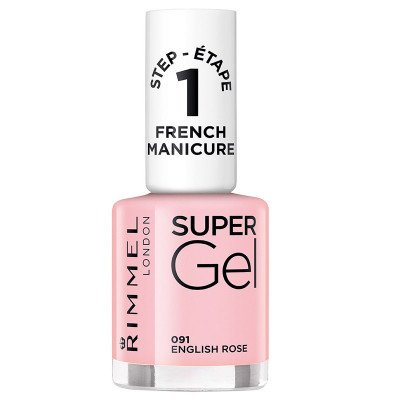 RIMMEL nail care french manicure supergel english rose 12ml