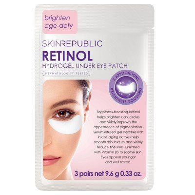 Skin Republic Retinol Hydrogel Under Eye Patches Pk3