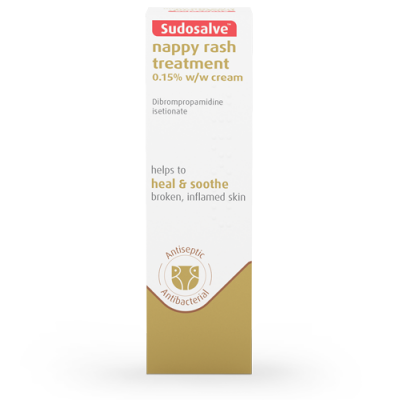 SUDOSALVE Nappy Rash Treatment Heal & Soothe antiseptic antibacterial 25g